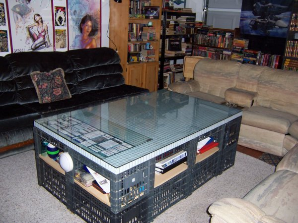 And of course our Custom Gamingtable. You can get all the details, as ... Dark Green Circle
